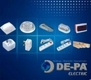 ООО «ДЕ-ПА» реализует электротехническую и светотехническую продукцию.